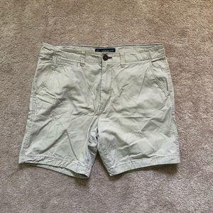 American Eagle Prep Khaki Shorts